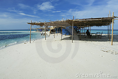 White beach camiguin island mindanao philippines Editorial Stock Photo