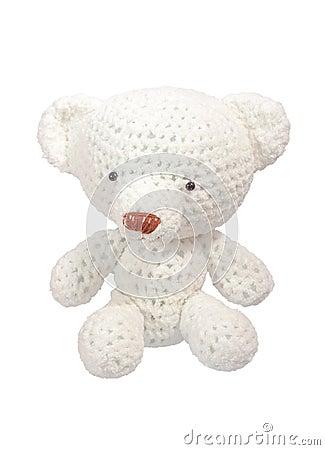 Free White Bear Doll Royalty Free Stock Image - 36266766