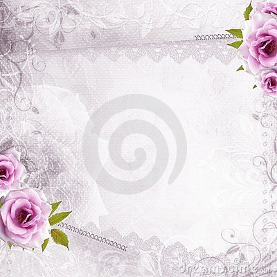 White beautiful wedding background