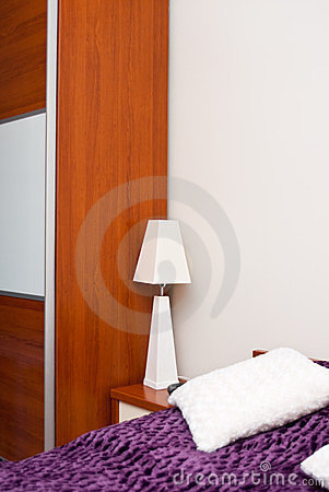 White Bedside Lamp