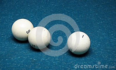 White billiard ball