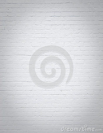 Free White Blank Brick Wall Vertical Background Royalty Free Stock Image - 31006696