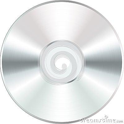 White blank CD
