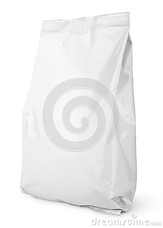 Free White Blank Snack Bag Package Stock Photos - 41644873