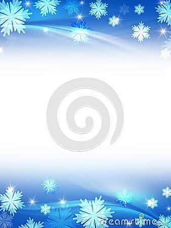 Free White Blue Christmas Background Stock Photo - 16993910
