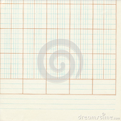 Free White Blue Ledger Or Graph Paper Numbers Royalty Free Stock Image - 38145516