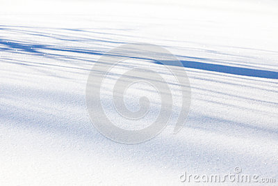 White and blue snow background