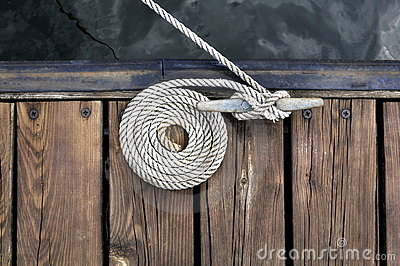White Boat Rope