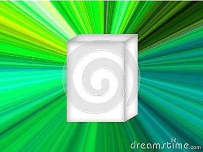 White Box Green Star