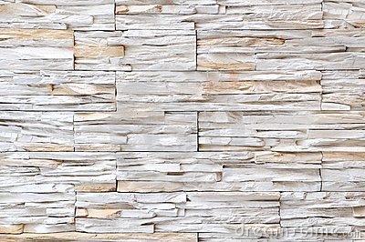 White brick stone wall texture