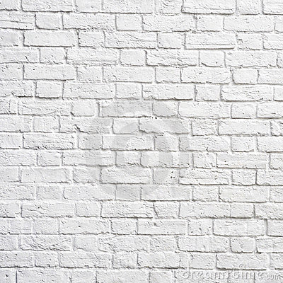 Free White Brick Wall Stock Photography - 19821202