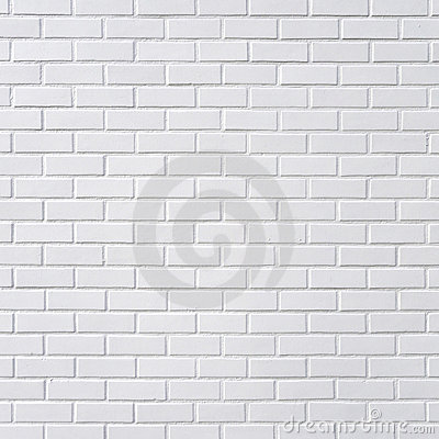 Free White Brick Wall Stock Image - 20597651