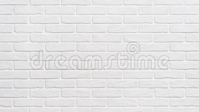 White Brick Wall Background Zoom Effect Stock Video Video Of Interior Brickwork 144225321