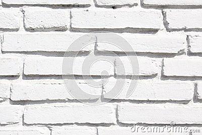 White brickwork