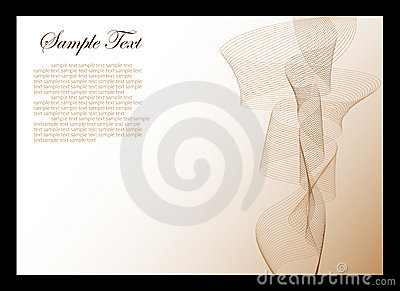 White and brown abstract background