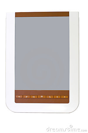 White brown Electronic book