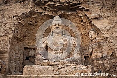 White buddha cave