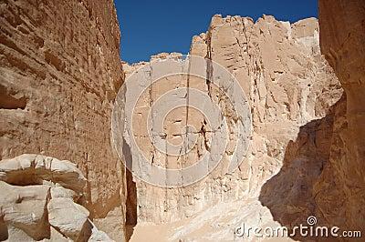 White canyon in Egypt