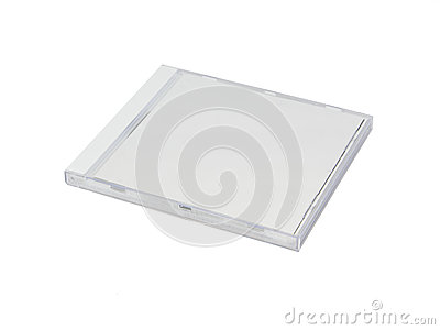 White CD Case