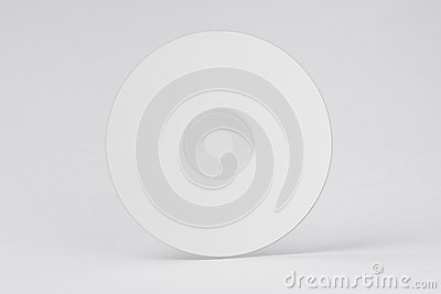 White CD DVD