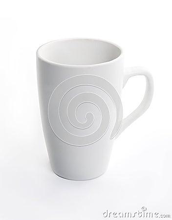 Free White Ceramic Cup On White Background Stock Photos - 34656653