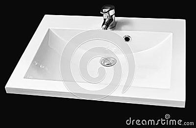 white ceramic hand wash basin