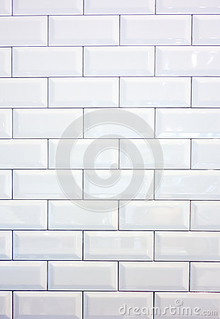 Free White Ceramic Tile Wall Stock Images - 39365714