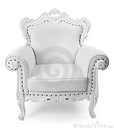 Free White Chair Stock Image - 16073921