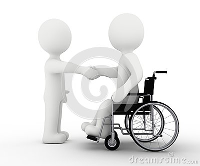 White character and handicap