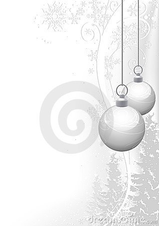 Free White Christmas And Winter Floral Stock Photos - 11194623