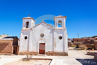 White Church in Chacopampa