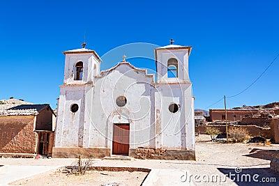 White Church in Chacopampa