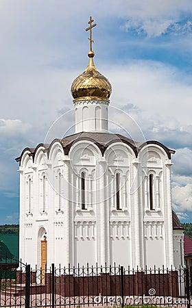White church in Maloyaroslavets