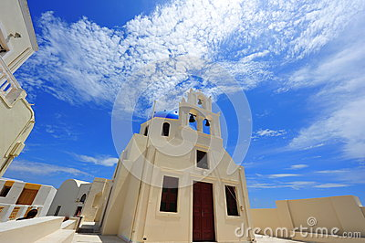 White Church in Oia, Santorini
