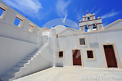 White Church in Oia, Santorini