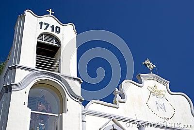 White church or temple