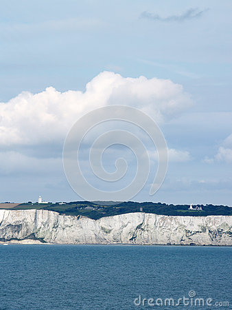 White cliff of Dover