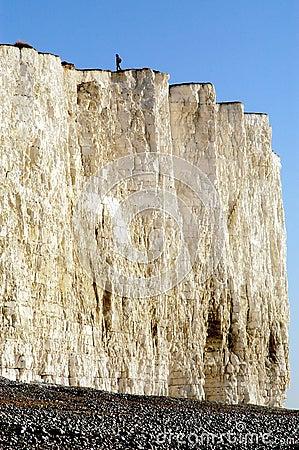 White Cliffs in England