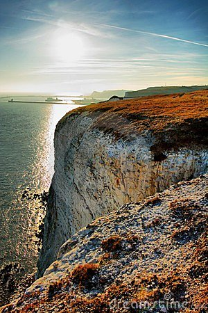 Free White Cliffs Of Dover Stock Photography - 7996122