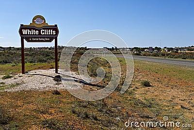 White Cliffs Opal Town