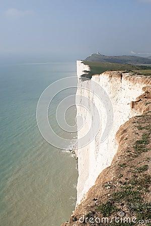 White cliffs & Sea