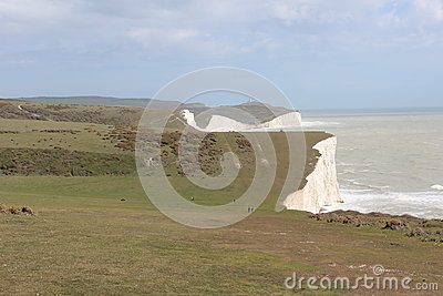 White cliffs at Seven Sister