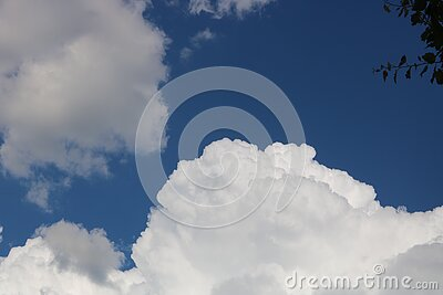 White Clouds Free Public Domain Cc0 Image
