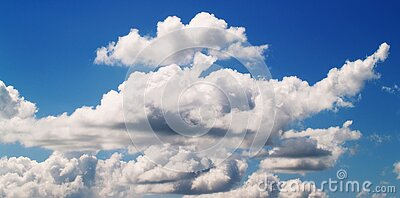 White Cloudy Blue Sky At Daytime Free Public Domain Cc0 Image