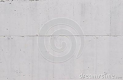 White cocrete wall