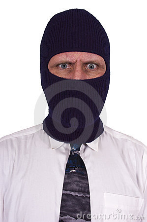White Collar Crime, Thief, Criminal, Mask