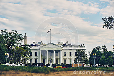 White Concete Building With Flag On Top Free Public Domain Cc0 Image