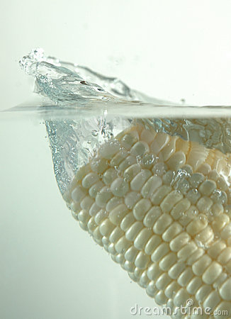White corn splash,