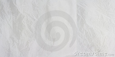 White Creased Paper x 3