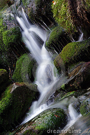 White creek - waterfall